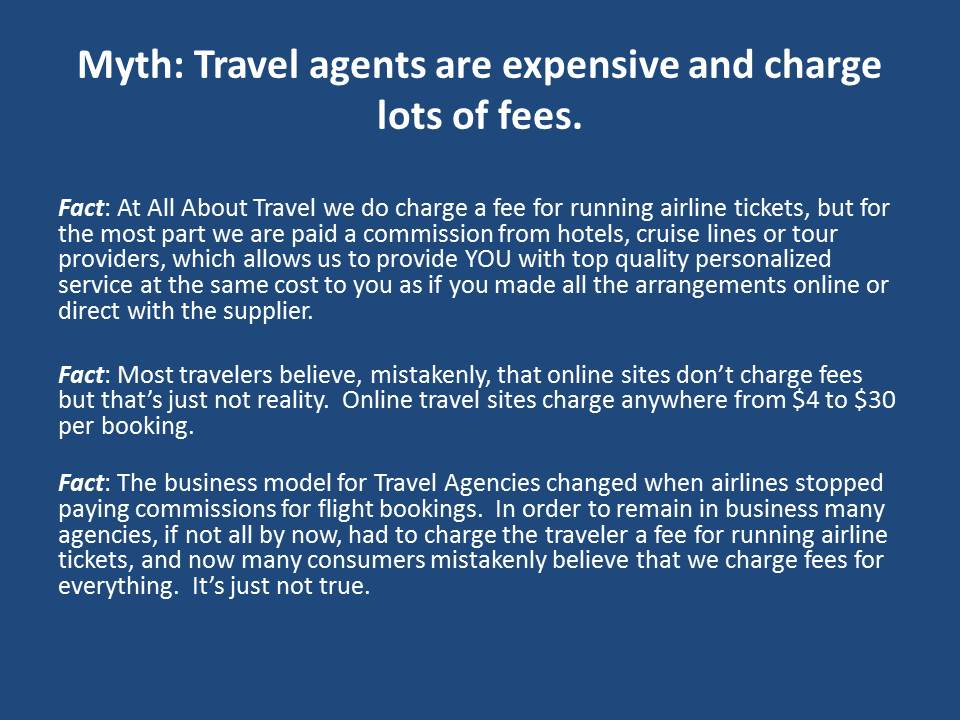 How Do Travel Agents Get Paid Images