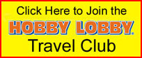 Join the Hobby Lobby Travel Club